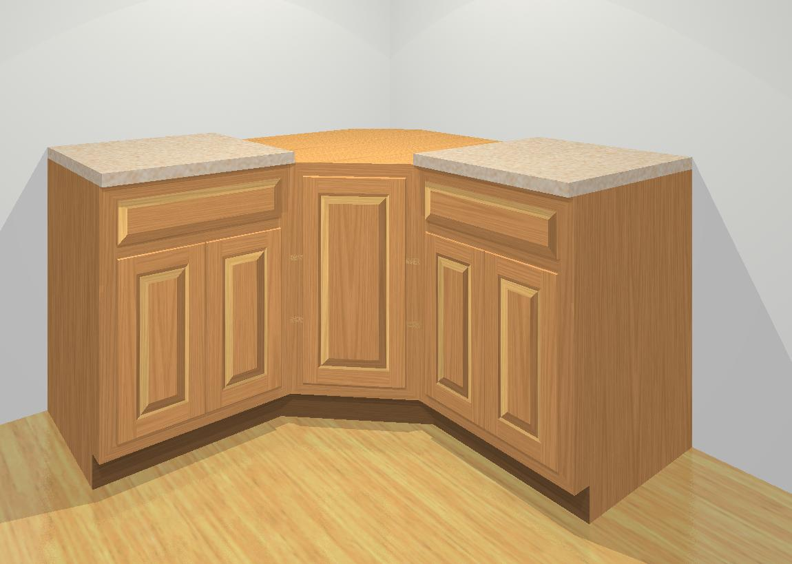 What type is my kitchen angle or l for Corner kitchen cabinet